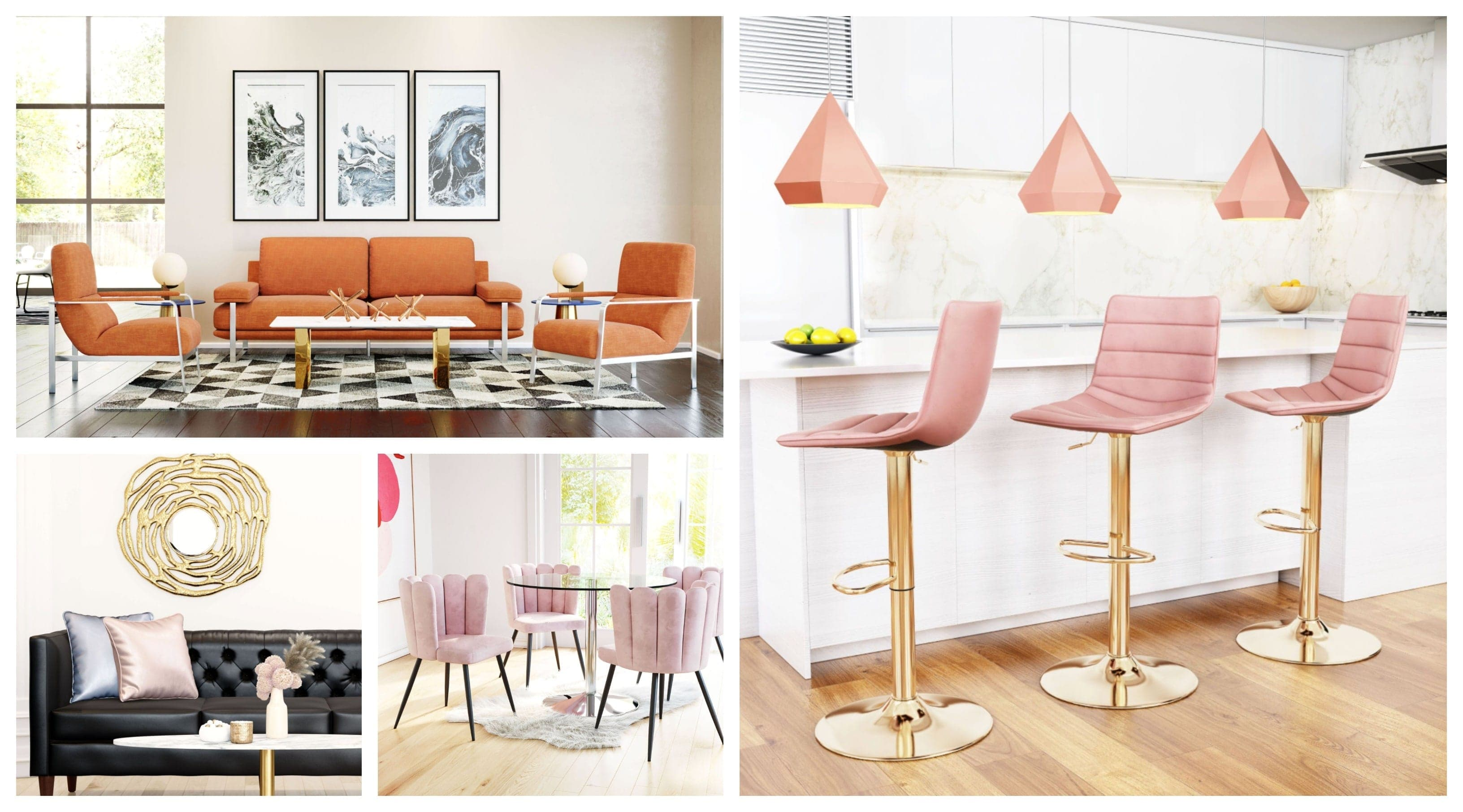 How To Use Bright Colors In Your Home Furniture