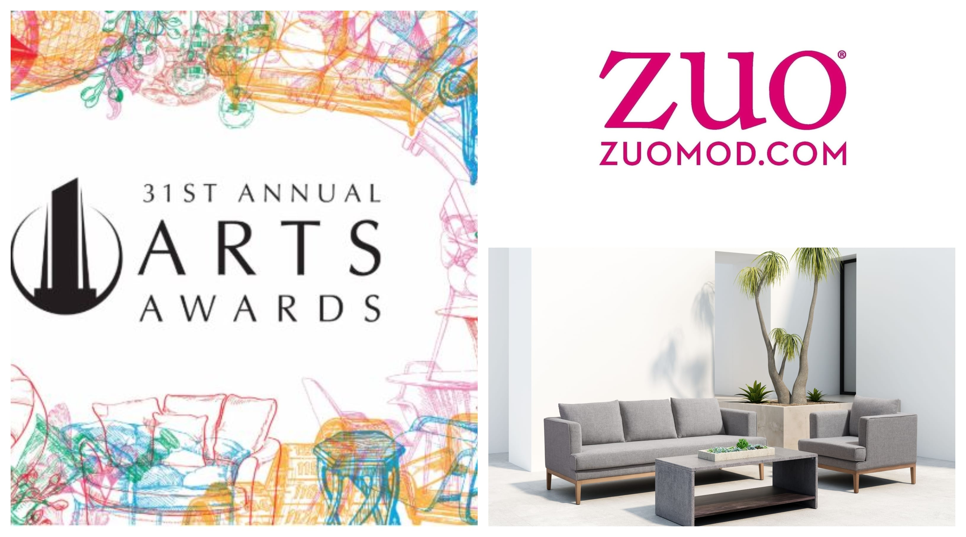 ZUO NAMED FINALIST FOR 31st ANNUAL ARTS AWARDS