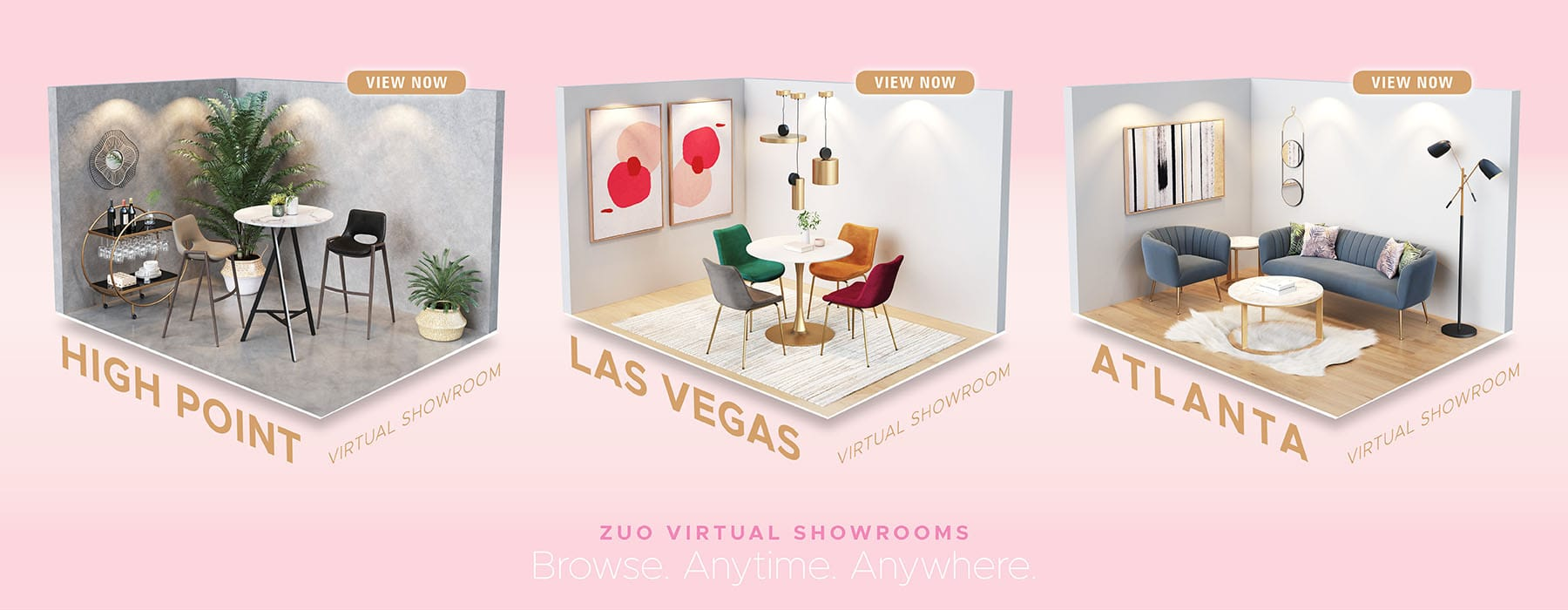 No Traveling, No Problem, visit one of our Virtual Showrooms today!