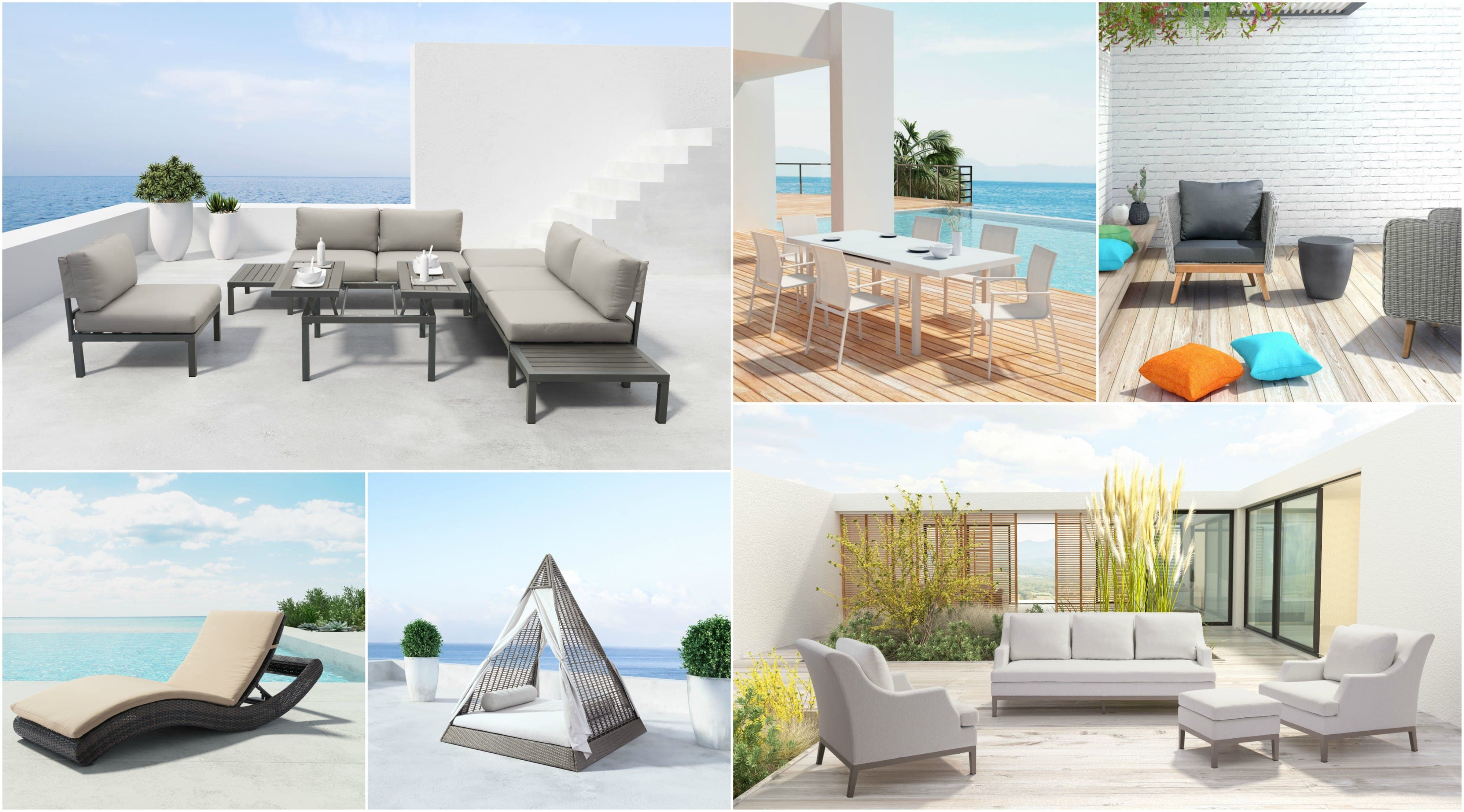 The perfect combination of garden furniture for this summer