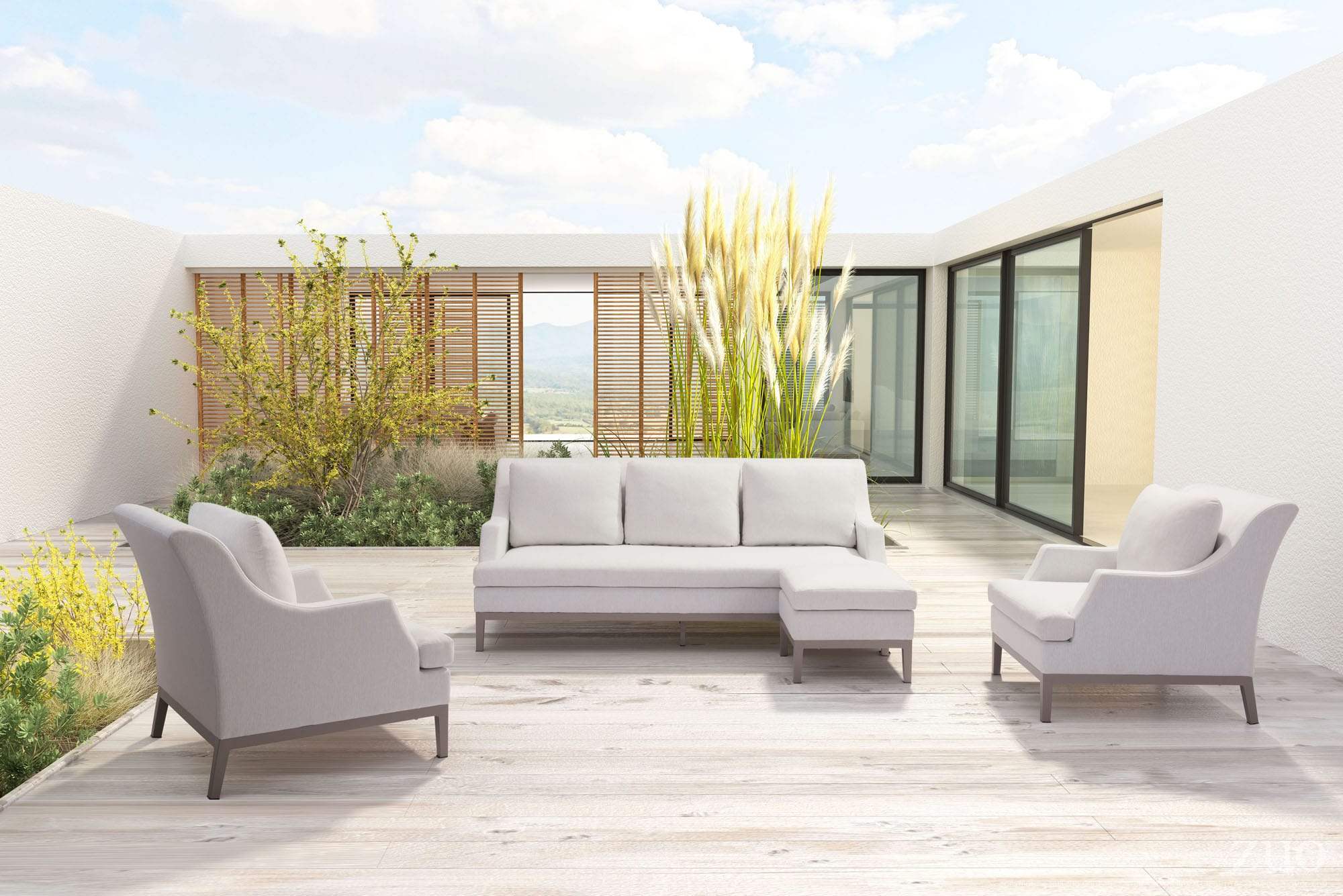 ZUO Launches new Indoor / Outdoor Upholstery for the Chicago Casual Market