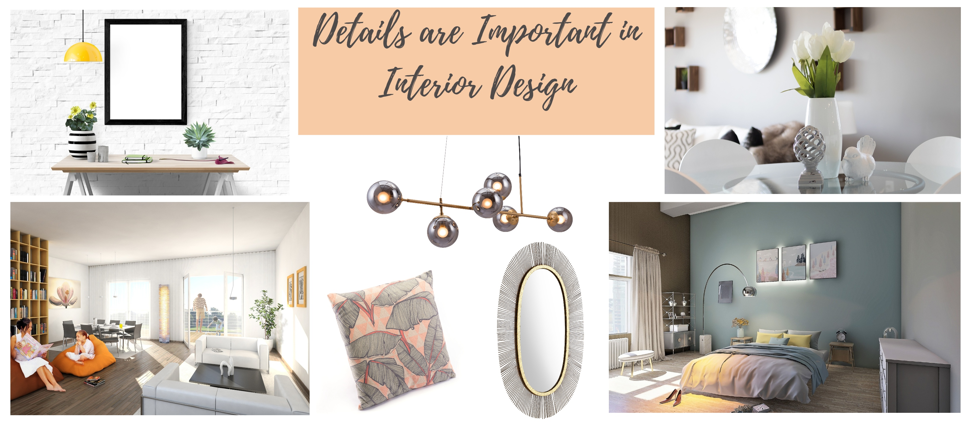 Why are details important in interior design?