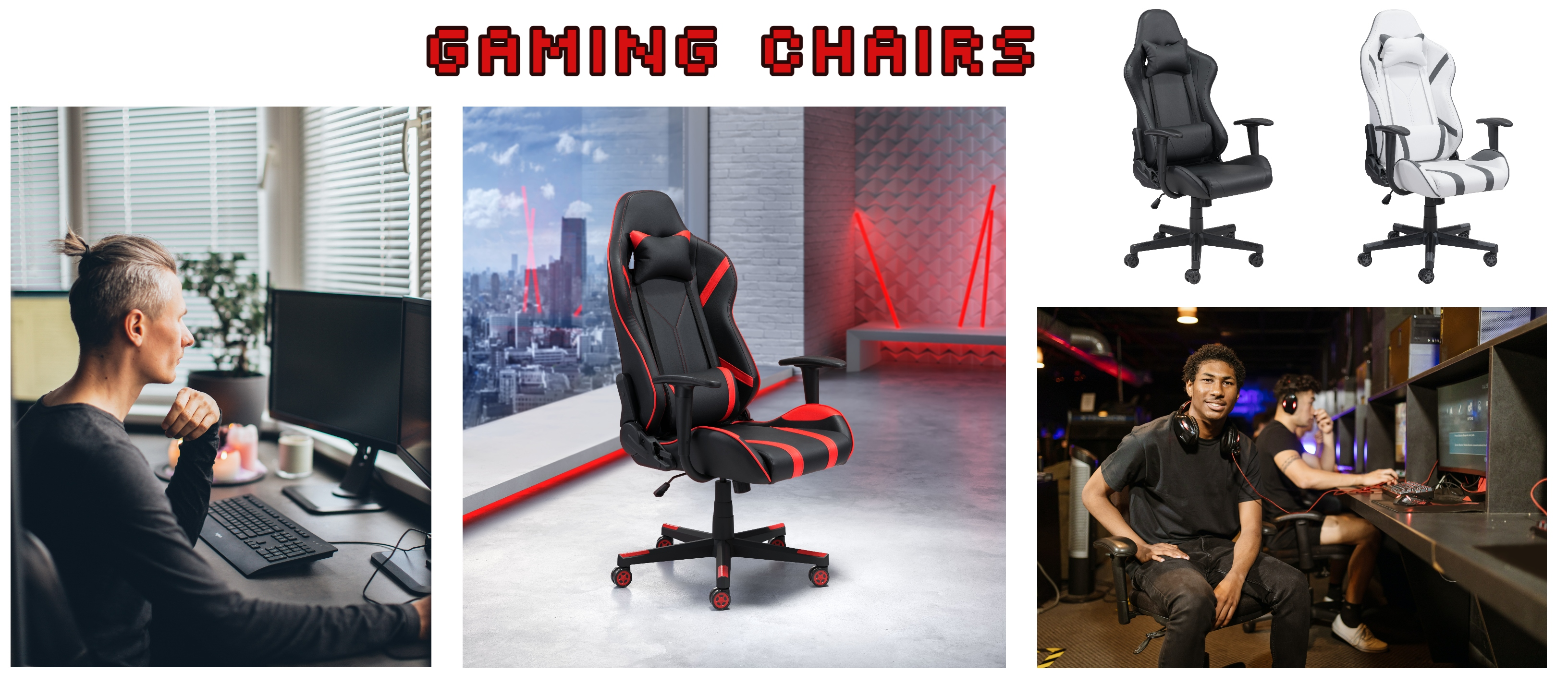 Gaming chairs are not just for Xbox and PlayStation fanatics